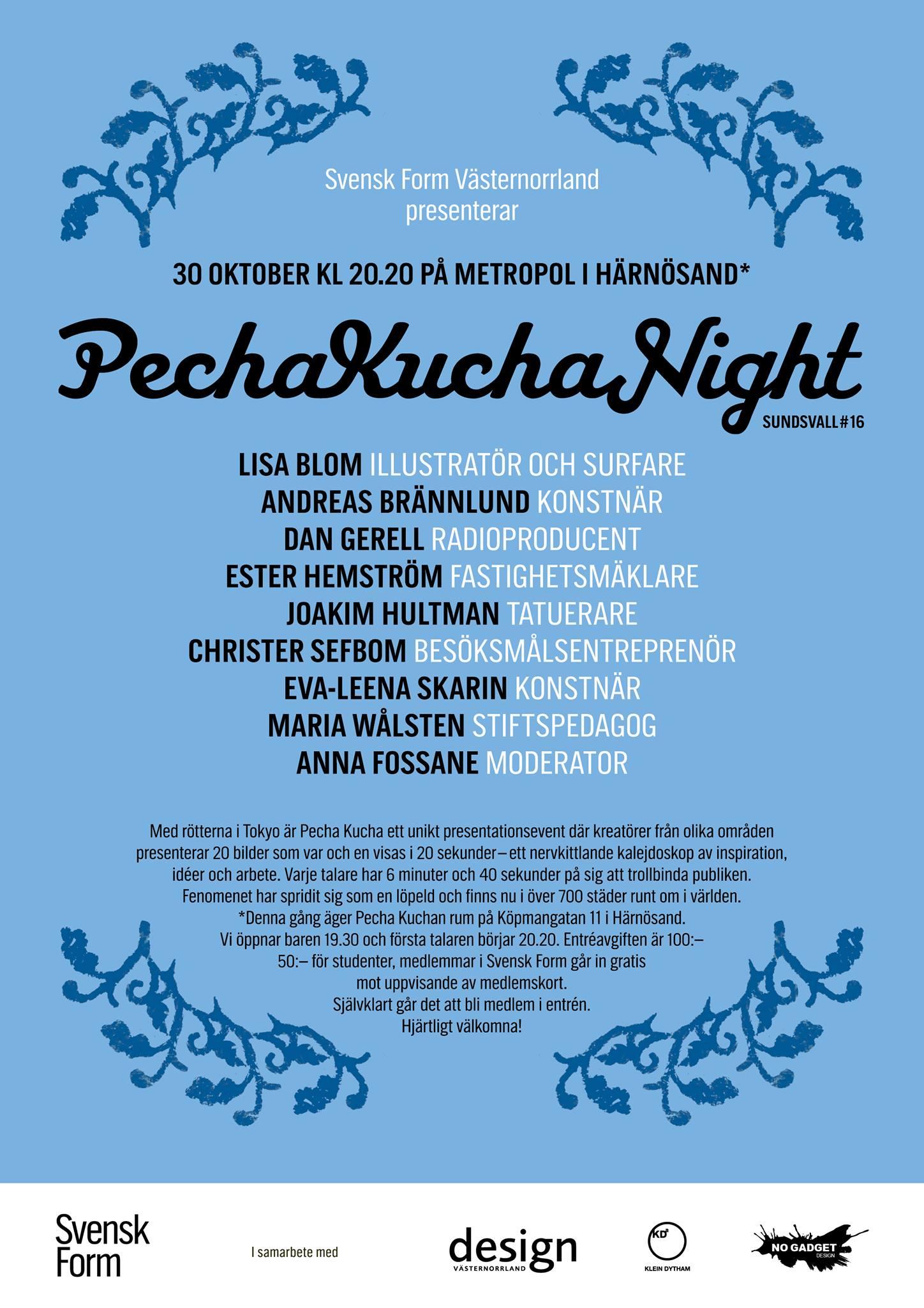 Pecha Kucha 16
