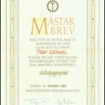 mastarbrev
