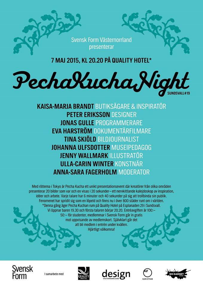 Pecha Kucha nr19