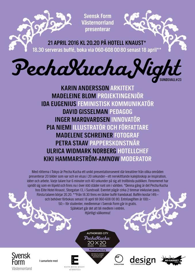 Pecha Kucha nr23